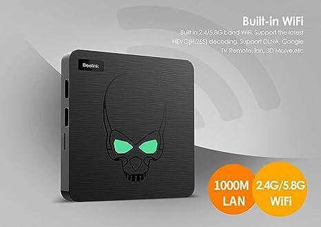 YPSMCYL Amlogic Quad Core DDR4 S922X 4 GB 64 GB Caixa De TV Android 9.0 Inteligente Mini PC 2.4G 5.8G Doble Banda Wi-fi Bluetooth SPDIF Áudio Porto TVbox: Amazon.es: Hogar