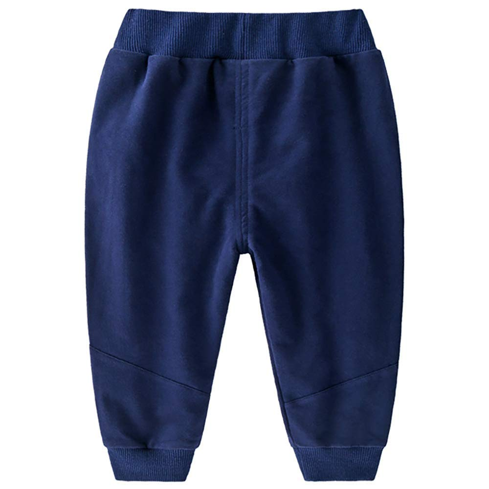Unisex Baby Boys Girls Fashion Pants Loose Casual Fit Pants
