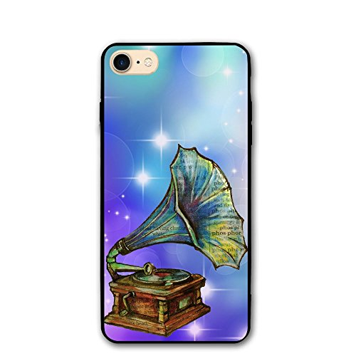 Anutknow Antique Record Player Phonograph Illustration Beautiful Fashion Fall Apple 8 / 8s Phone Case