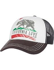 Billabong Junior\'s Pitstop Trucker Hat, Charcoal, One Size