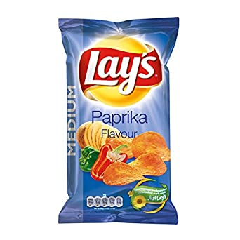 Lay's - Paprika - 120gr/4.23oz Lay's