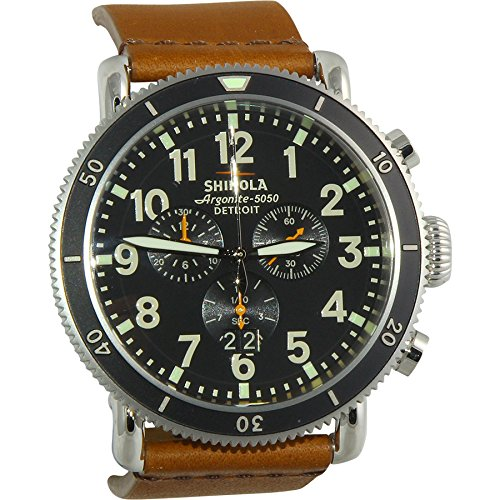 Shinola The Runwell Sport Chronograph Black Dial Mens Watch 12001115