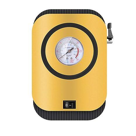 Compresor de aire de indicador portátil, 12 v para inflador de ...