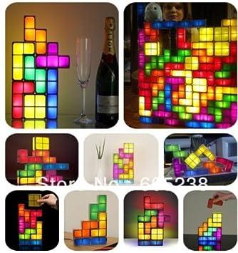 Tetris Stackable LED Desk Lamp Tetris Lamp