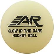 A & R Glow in The Dark Street Hockey Ball,Tie