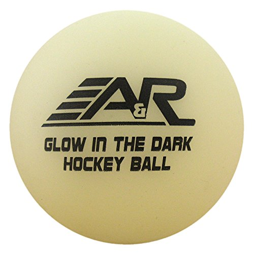 A & R Glow in the Dark Street Hockey Ball – DiZiSports Store