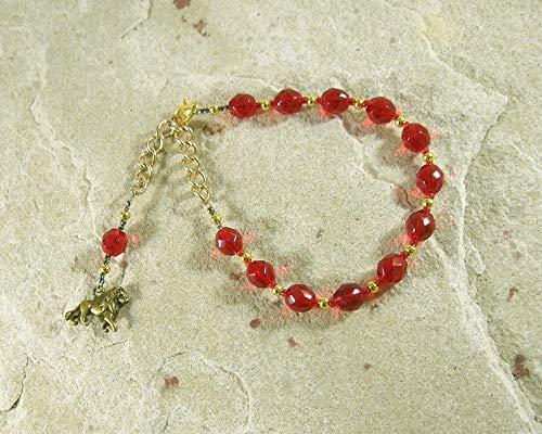 Sekhmet Prayer Bead Bracelet: Egyptian Goddess of Healing, War, Justice and - Prayer Beads Goddess