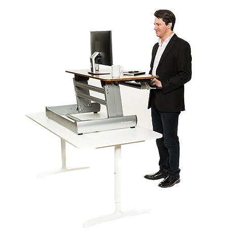 Amazoncom InMovement Standing Desk Adjustable Heights for