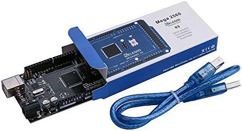 ELEGOO Mega 2560 R3 Tarjeta Placa Compatible con Arduino IDE con ...
