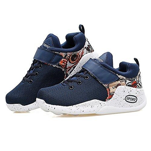 37 2018 Color cinturini Dimensione e profondi all'aperto anteriori da Moda Autunno Sneaker Estate con basket Blu uomo donna poco Scarpe EU Jiuyue atletico da casual shoes da BfAp4