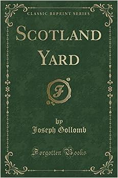 Book Scotland Yard (Classic Reprint)