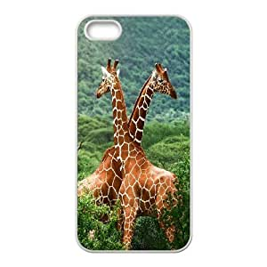 Cut giraffe series protective cover For Iphone 4 4S case cover A-giraffe-S54465