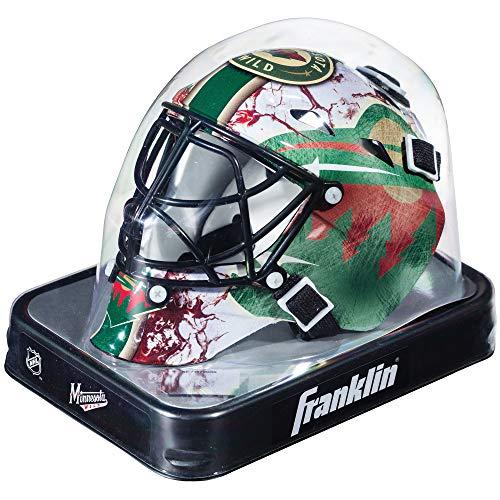 Franklin Sports NHL League Logo Minnesota Wild Mini Goalie ()