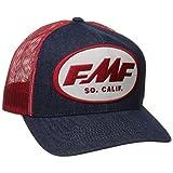 FMF Unisex-Adult Ronnie Mac Trucker Hat (Blue/White, One Size)