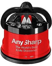 AnySharp Pro Afilador de Cuchillos (Metal) con Ventosa