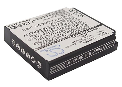 Cameron Sino Rechargeble Battery for Panasonic Lumix DMC - dmc-fx50 K   B01DNNMNRS