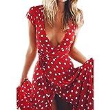Best unknown Maxi Dresses - Women Off Shoulder Boho Tube Top Floral Sundress Review