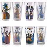 African American Expressions - Total Praise Drinking Glass Set (17 oz. glass, 5.75'' x 3.5'') DGL-03