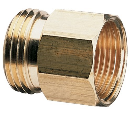 Nelson 10 Pack Brass Pipe to Hose Connector Fitting | Female 3/4 Pipe Thread x Male 3/4 Hose Thread by Nelson