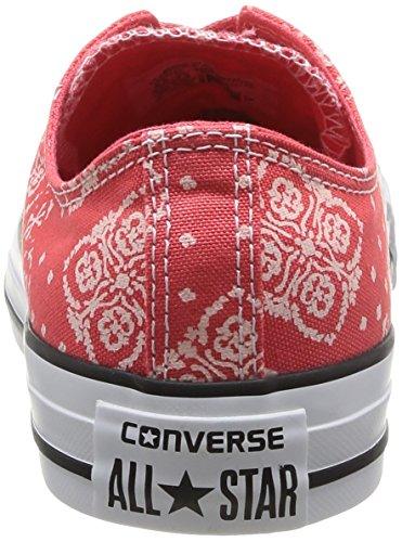 Taylor Bandana Rouge Damen Chuck Sneaker Converse Prt Rot Zqx546
