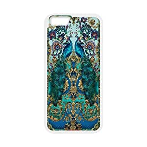 "DIY Peacock Back Case for iPhone 6 pluS 5.5"", Customized Peacock Iphone6 5.5 WANGJING JINDA"