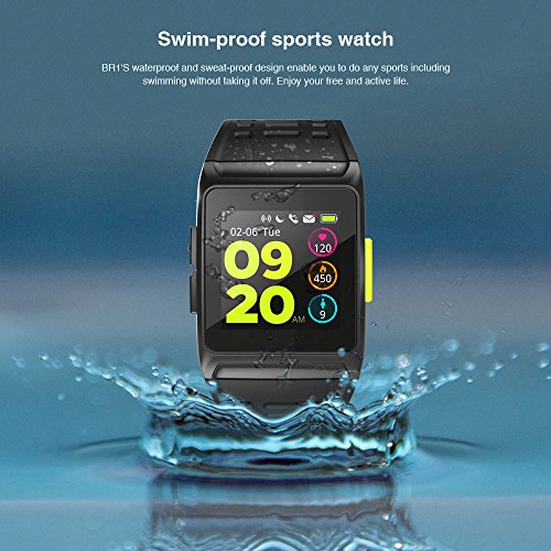 BISOZER BR1 GPS SPORTS Watch Smart Watch IP67 Waterproof Color Screen Multisport Wristwatch Men Women Fitness Watch Smartwatch by BISOZER (Image #3)