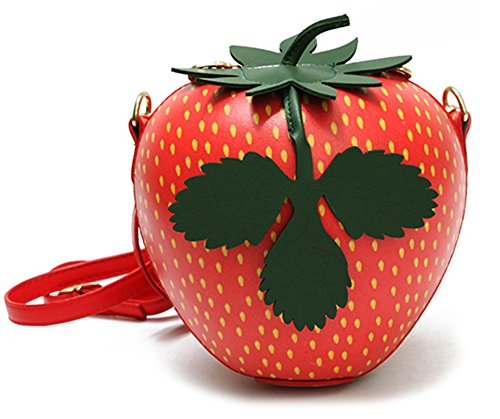 Fruit Shape Crossbody Bag Strawberry Onfashion Mini Clutch Bag Bag Purse Women's Shoulder Cute 1Eq1wORS