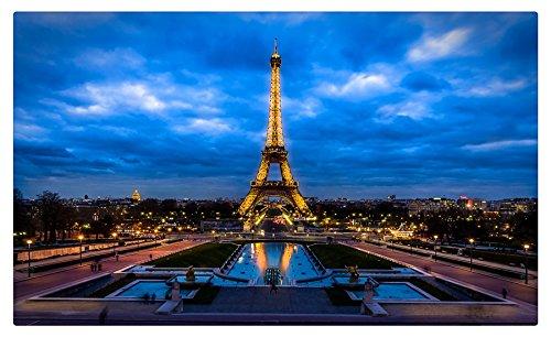 (France Paris Eiffel Tower Cities travel sites Postcard Post card)