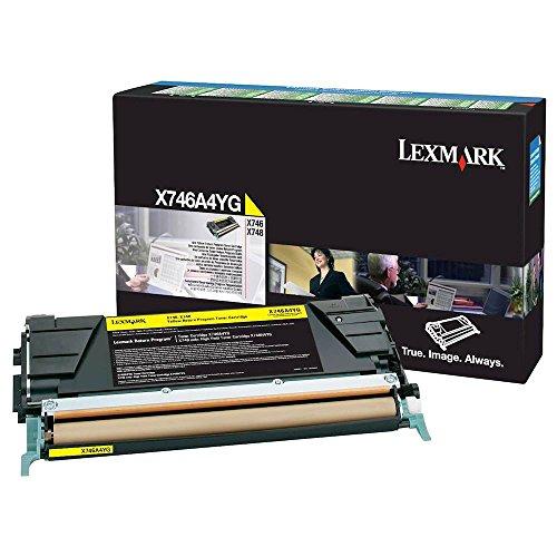 Lexmark X746A4YG Toner Cartridge Yellow X746A4YG
