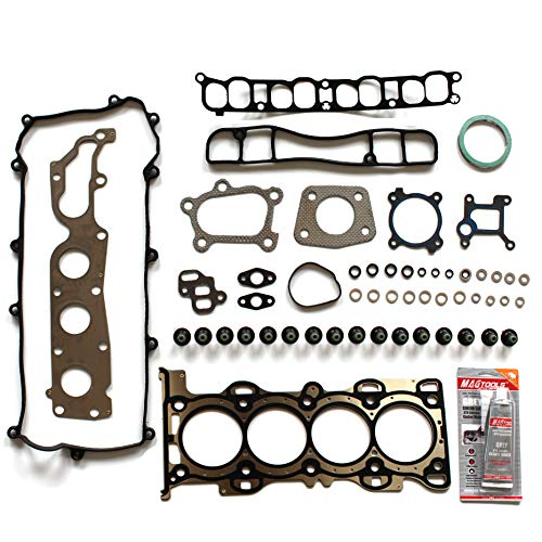 - cciyu Head Gasket Kit for Mazda 3 Mazda 6 Mazda CX-7 2006-2013 Replacement fit for HS26407PTHead Gaskets Set Kits