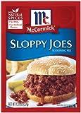 McCormick Sloppy Joe Seasoning, 1.31-Ounce Units (Pack of 24)