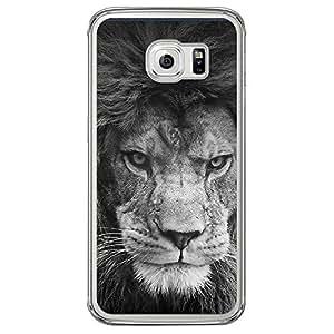 Loud Universe Samsung Galaxy S6 Edge Inspiration Tumblr Printed Transparent Case - Grey