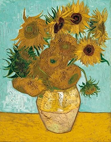 Jarrón con girasoles de Vincent van Gogh: Amazon.es: Juguetes y juegos