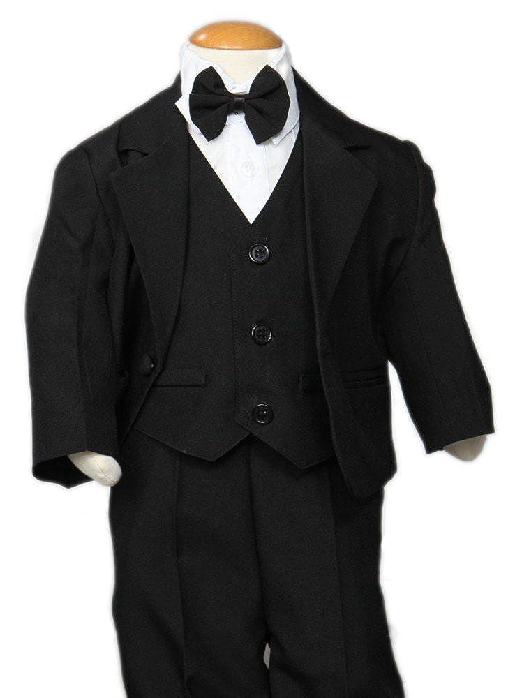 Boutique-Magique Costume mariage bébé garçon noir complet
