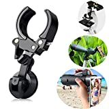 Universal Cell Phone Adapter Mount for Binocular Monocular Spotting Scope Telescope and Microscope for Smartphones Tablets or Computers, iPhone, Ipad (Black)