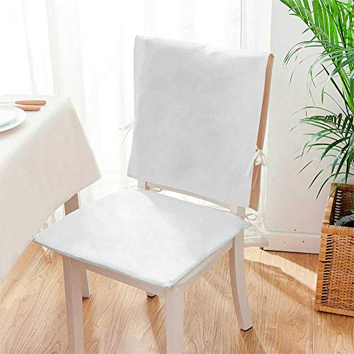 Mikihome 2 Piece Set Chair pad Simple Style Furniture, Furniture, Furniture, Sofa Cabinet, Cupboard and Bookcase Garden Patio Home Chair Cushions Mat:W17 x H17/Backrest:W17 x H36 from Mikihome