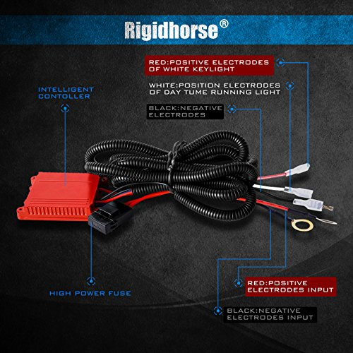 Wiring Harness Rigidhorse Remote Control Wiring Harness Kit For 8D on led light bar filter, led light bar power cord, led light bar pin, led light bar housing, led light bar cover, led light bar circuit board, led light bar hardware,