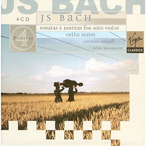 Bach: Cello Suites, Sonatas & Partitas for Solo Violin - Christian Tetzlaff & Ralph Kirshbaum  (4 CD's)