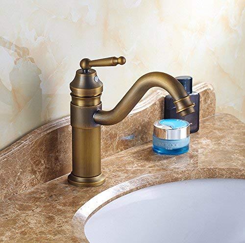 25 Oudan Basin Mixer Tap Bathroom Sink Faucet Antique Basin Faucet 39 (color   15)