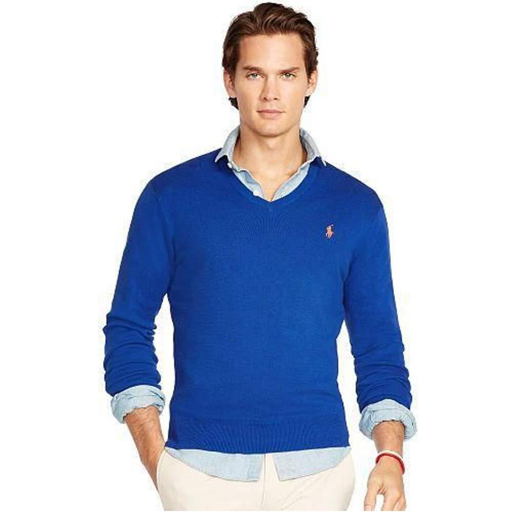 Ralph Lauren Jersey Pima V-Neck Slim Fit B07PXKWQP4 Pullover Sorgfältig ausgewählte Materialien