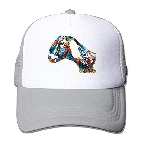 No Soy Como Tu Gorras béisbol Two Tone Trucker Hat - Goat Paintings - Adjustable Mesh Cap