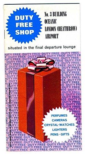 London Heathrow Airport Duty Free Shop Catalog 1960's No. 3 Building Oceanic ()