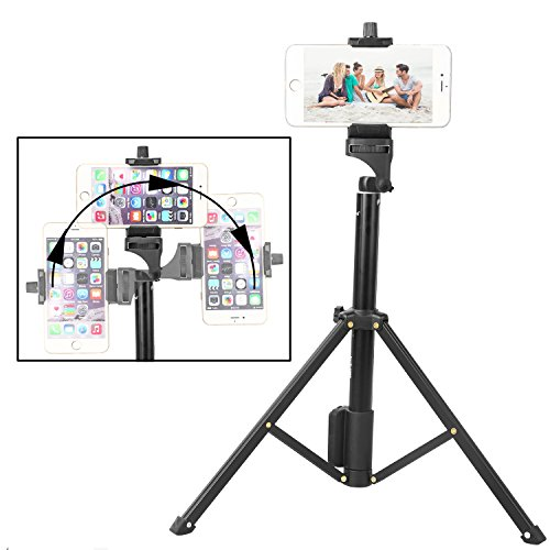 crazefoto selfie stick tripod 57 inch adjustable iphone tripod  extendable camer