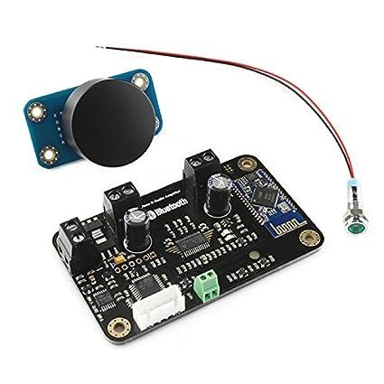 Amplificador de clase D Luxus Audio con control de volumen – 2 x 15 W –