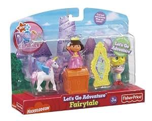 Amazon Com Fisher Price Dora S Let S Go Adventure