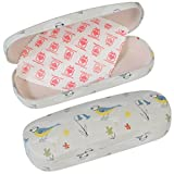 Hardshell Glasses Case & Cleaning Cloth - Choice Of Design