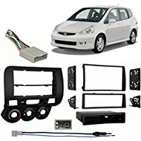 Fits Honda Fit 2007-2008 Multi DIN Aftermarket Harness Radio Install Dash Kit