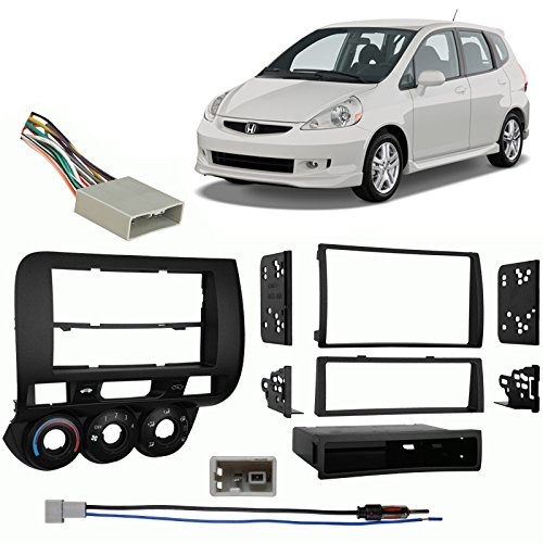 Amazon.com: Fits Honda Fit 2007 2008 Multi DIN Aftermarket Harness Radio  Install Dash Kit: Car Electronics