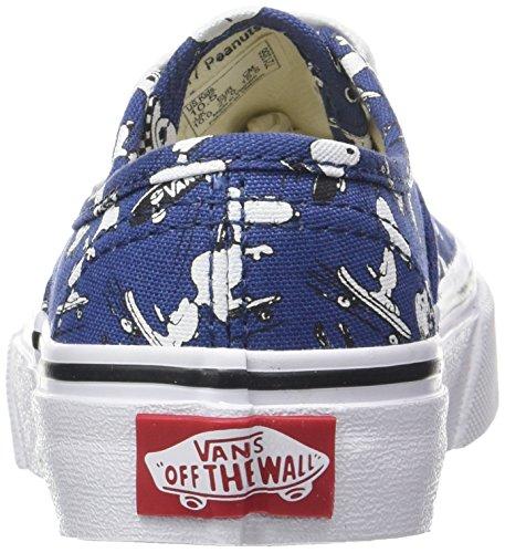 Vans Peanuts Authentic, Zapatillas de Entrenamiento Unisex Niños Azul (Snoopy/skating Peanuts)