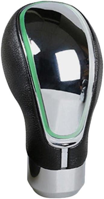 Auto Schaltknauf Leder Schaltkn/üppel Touch aktiviert Multi-Color Licht beleuchtet Schaltkn/üppel Shifter Knob mit USB Ladeger/ät Universal f/ür Most Manuelles ohne RGA